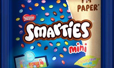 """""""Smarties"""" ще използва опаковка от рециклирана хартия 149"""