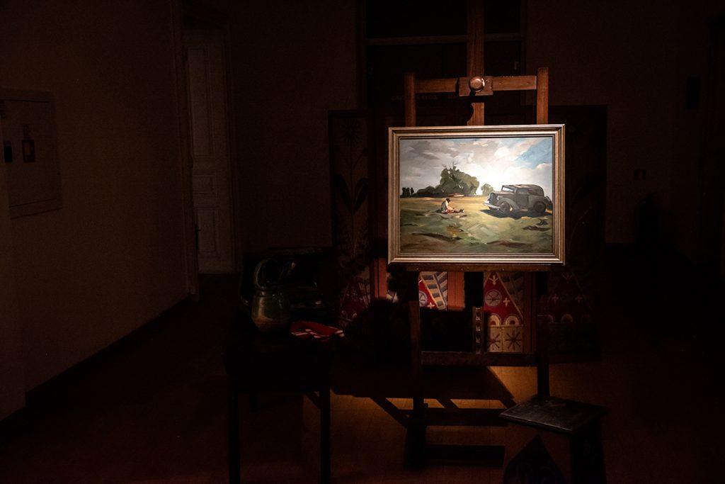 Националната галерия представя - Никола Танев. На път 147