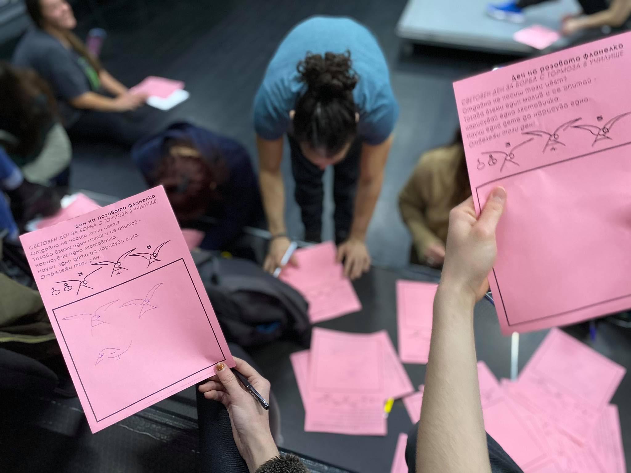 Университетският театър на НБУ с кампания срещу насилието в училище 26