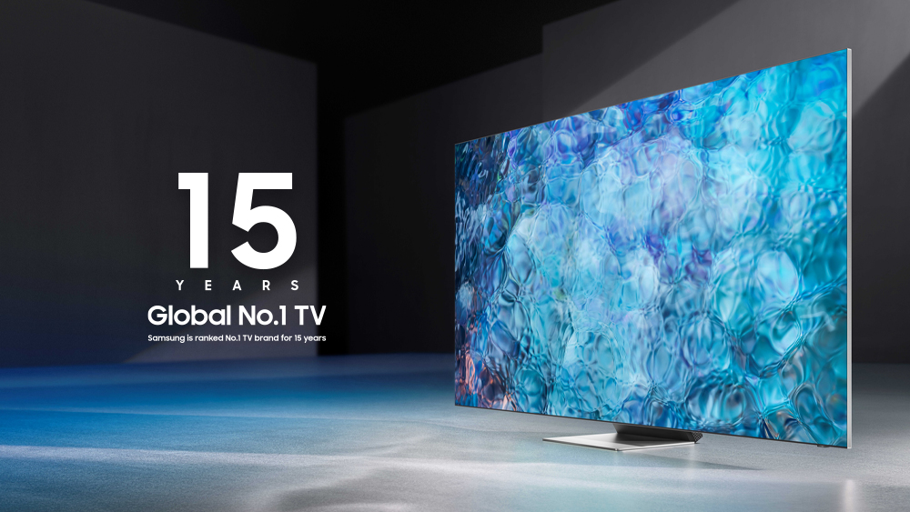 За 15-a поредна година Samsung е производител № 1 на световния пазар за телевизори 139