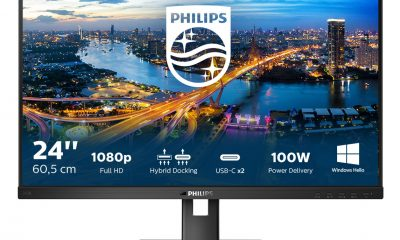 Хибридна връзка и сигурна уеб камера в нов, удобен и екологичен монитор от B серията на Philips 48