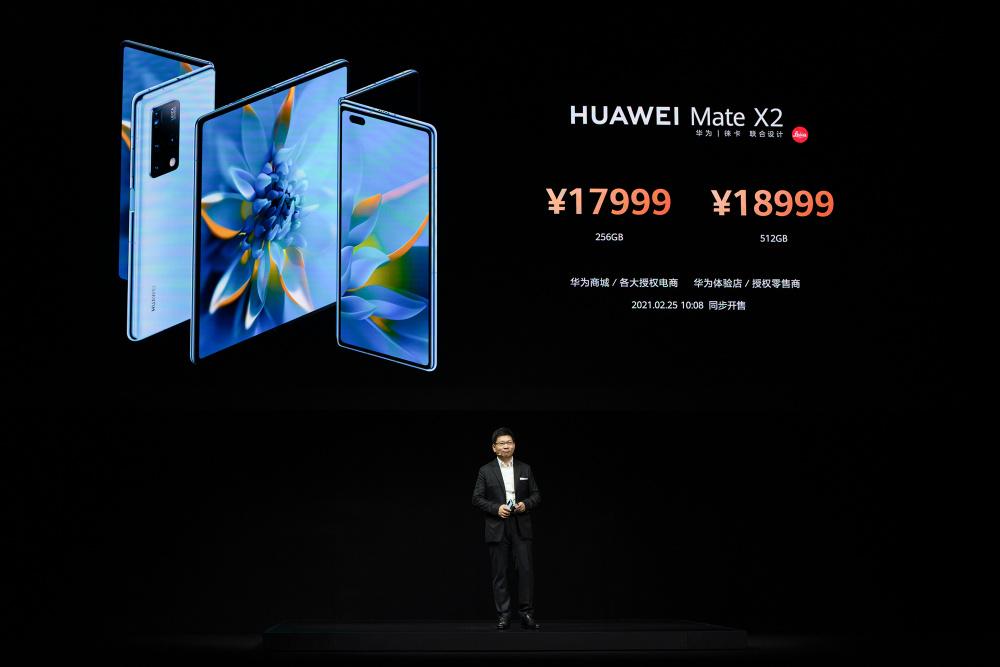 С 88 заявки за патенти при сгъваемите устройства, HUAWEI представи новия сгъваем Mate X2 141