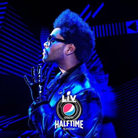 THE WEEKND свали превръзката от лицето си на сцената на Super Bowl halftime show! 137