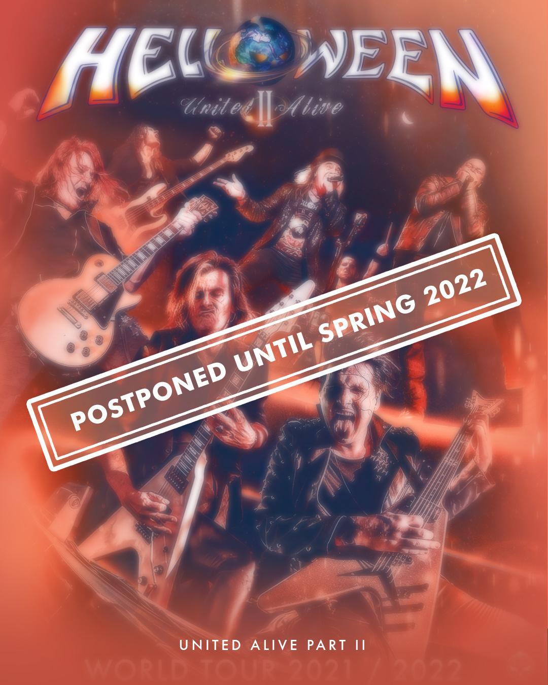 Helloween отлагат турнето си 139