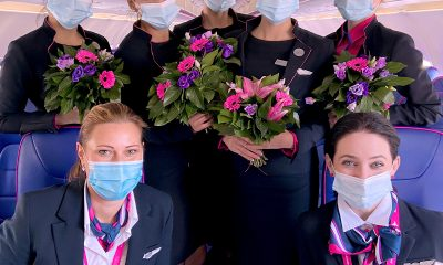 Wizz Air отбелязва Международния ден на жената с планове за повече жени пилоти и мениджъри 326