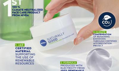 Beiersdorf лансира първите климатично неутрални продукти NIVEA 324