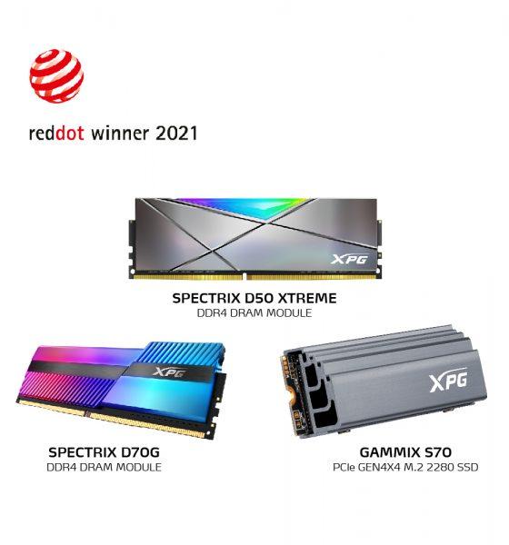 XPG с три награди Red Dot 2021 26