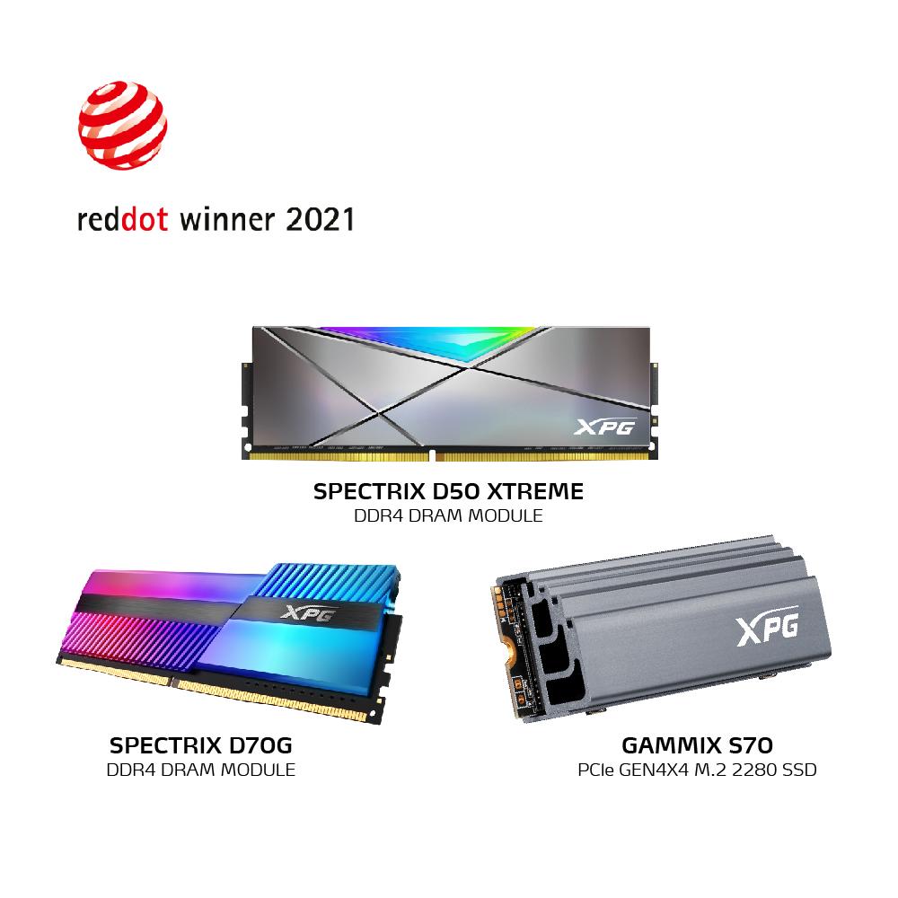 XPG с три награди Red Dot 2021 27