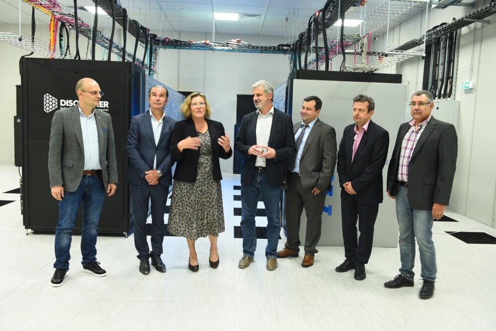 Екипите на Atos и София Тех Парк представиха българския суперкомпютър 137