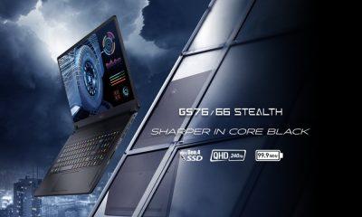 MSI разкри нови геймърски лаптопи и преносими бизнес модели от линията Creator 22