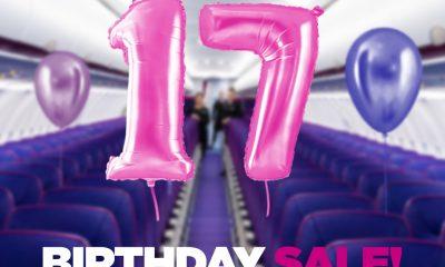Wizz Air празнува 17-и рожден ден днес с до 35%* отстъпка 220