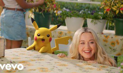 Katy Perry в колаборация с Pokémon 1