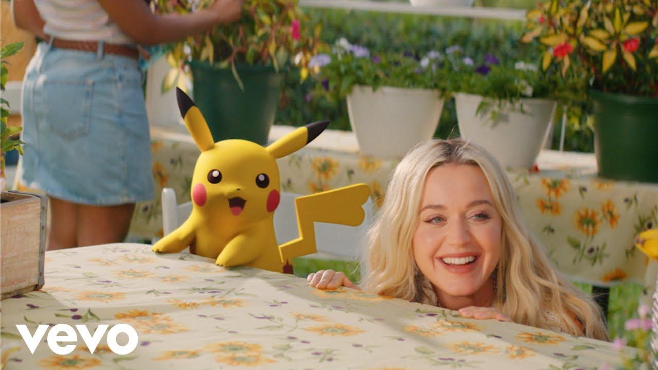 Katy Perry в колаборация с Pokémon 27