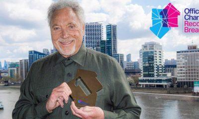 Tom Jones е най-възрастният мъж, оглавил класацията за албуми във Великобритания 2