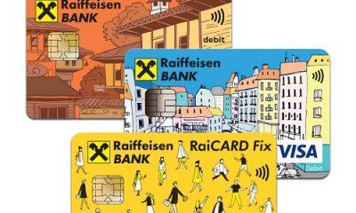 Нов авторски дизайн на картите на Райфайзенбанк 245