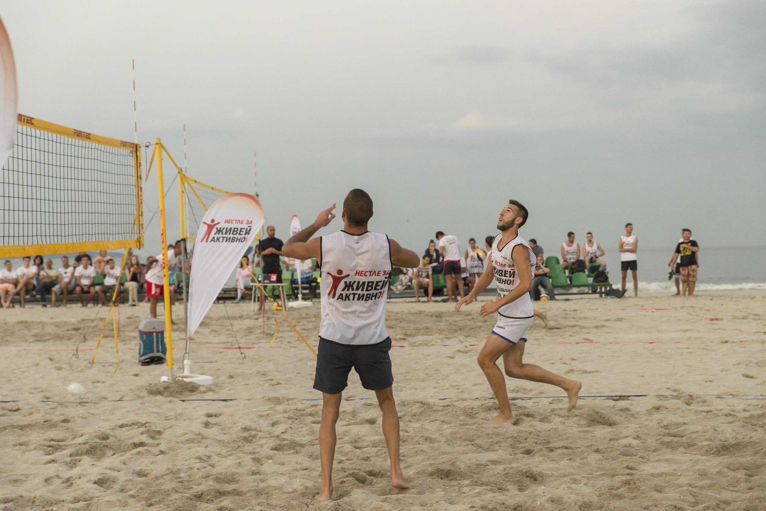 Нестле за Живей Активно! продължава волейболната традиция на варненци на 15 август 141
